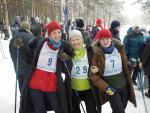 Соревнования ИНЦ СО РАН по лыжам (7 февраля 2010)