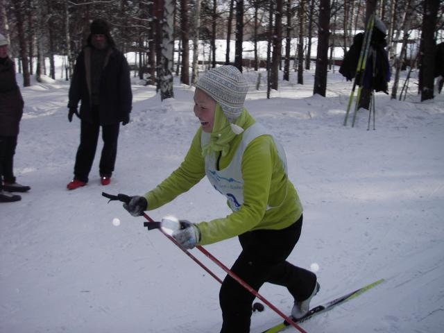 Соревнования ИНЦ СО РАН по лыжам (7 февраля 2010)-2